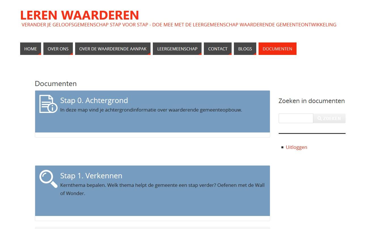 leergemeenschap waarderende gemeenteopbouw Goede Wijn Jan Hendriks participerend onderzoek